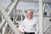Graham Darlow of Fletcher Construction at the company's Great South Rd site. Photo/Greg Bowker