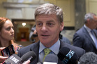Prime Minister Bill English said ministers are writing to a technical advisory group today to investigate a price on water allocation, but only in relation to the relatively small bottled water industry.  Photo / Mark Mitchell