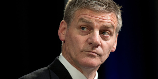 Prime Minister Bill English has pulled in a much lower level of support than his predecessor John Key in the latest political poll. Photo / Mark Mitchell