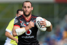 Simon Mannering in action for the NZ Warriors against Melbourne Storm. Photo/Jason Oxenham