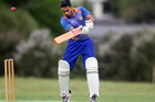 BOP Indians' player Jaspreet Singh, pictured at the crease for his side earlier this season. Photo/File