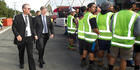 View: Photos: Prime Minister Bill English in Rotorua