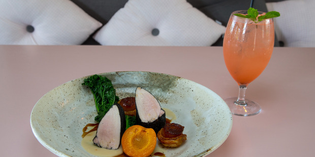 The pork loin at Moxie restaurant. Photo / Getty Images