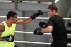 DEDICATED: Tauranga boxing trainer Chris Walker, right, is bringing back amateur boxing nights. PHOTO: FILE