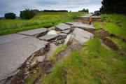 Damage following the Kaikoura earthquake. Photo / Supplied