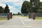 The entrance to Hawkes Bay Prison, at Mangaroa near Hastings. File photograph