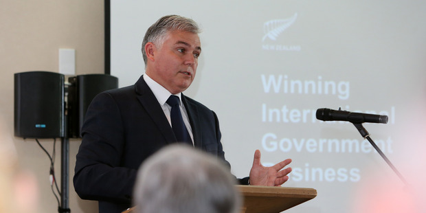 """Land Information Minister Mark Mitchell says there is no """"big buy-up"""" of New Zealand land by foreigners. Photo / Michael Cunningham"""