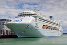 The superliner Pacific Jewel will become a regular fixture on Auckland's skyline next year when it is based there for six months. Photo/NZPA