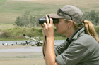 There is a growing number of young women getting into birding. Photo / File