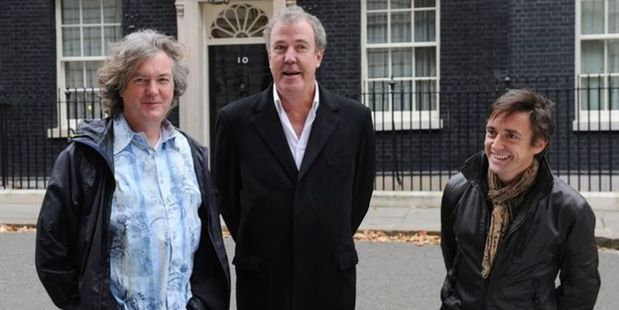 James May, Jeremy Clarkson and Richard Hammond. Photo / Supplied