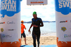 Former Commonwealth Games representative Brent Foster took out the Bay of Islands Classic, the penultimate leg of the New Zealand Ocean Swim Series. Photo/Cameron Walker