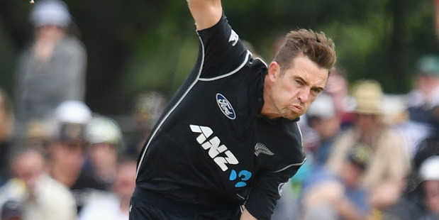 Tim Southee was controversially left out of the first South African test in Dunedin. Photo / Getty Images