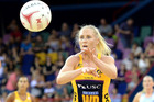 Laura Langman in action for the Sunshine Coast Lightning. Photo/GETTY.