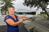 Napier City Council venues manager Glenys Fraser at the opening of the Napier Conference Centre last night. Photo/ Warren Buckland.