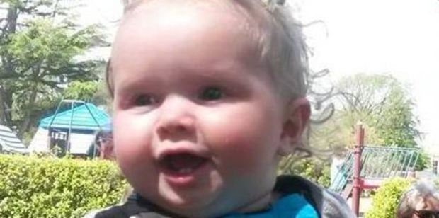 Christchurch infant Ihaka Stokes was found unconscious on July 3, 2015, and rushed to Christchurch Hospital where he died less than an hour later. Photo / Supplied
