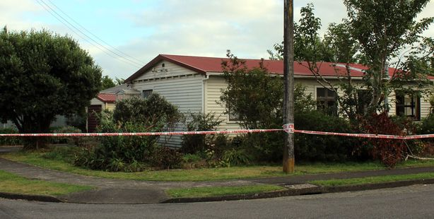 A Levin woman was tied up at knife point after two men entered her home in the early hours of Monday morning during an aggravated robbery at an address on Trafalgar Street.