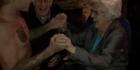 Watch: Bieber dances topless with elderly woman