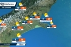 MetService Weather Christchurch: March 24th