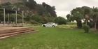 Watch: Watch: Violent attack beside Christchurch surf lifesaving club