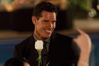 Zac Franich and that white rose. What does it mean? Photo/Three