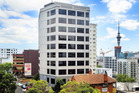The 16-level tower at 7 City Rd is within Auckland's education precinct. Photo / Supplied