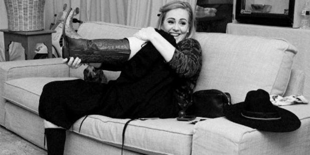 Adele. Photo / Instagram
