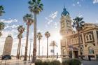 Mosely Square, Glenelg, Adelaide. Photo / SATC