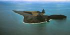 Bogoslof volcano is nestled in the Aleutian Islands about 98km northwest of Dutch Harbor, Alaska, US. Photo / AP