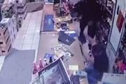 The attack was captured on CCTV footage. Photo / Supplied