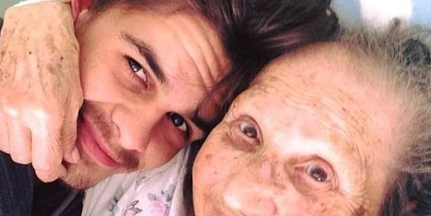 """Loading Jarryd Stoneman (left) posted a touching tribute to his nanny on Facebook calling her his """"best friend"""". Photo / Facebook"""