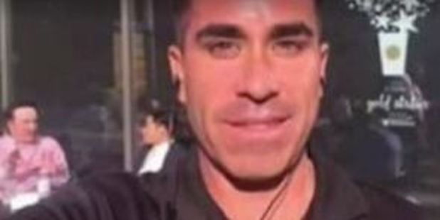 He's gone by the names Paul and Dave Gonzales, and he's a pro at ordering expensive meals before skipping out on his dates. Photo / CBS News