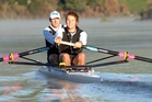 Nathan Twaddle (left), who won Olympic bronze with George Bridgewater in 2008, is preparing for the Masters Games. Photo / File