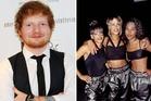 Ed Sheeran and TLC. Photos / Getty