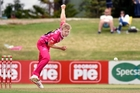 Scott Kuggeleijn has been given a break thanks to injuries to other bowlers. Photo / NZME