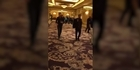 Watch: Watch: Police arrive as Las Vegas hotel evacuated amid pig masked robbery reports