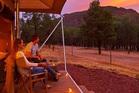 Ikara Safari Camp at Wilpena Pound, in South Australia.