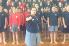 Masterton Intermediate's students were not afraid to say