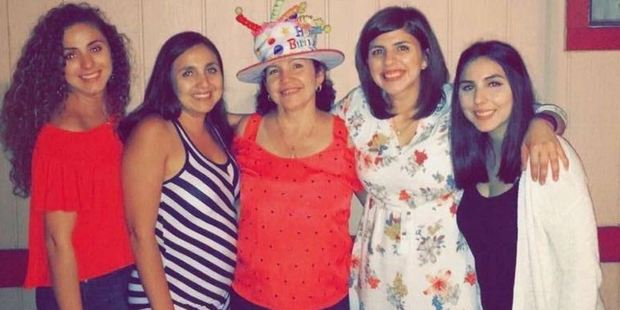 Guillermina Carrillo, center, hoped her daughters - from left, Ana, Elvia, Diana and Brenda - would never have to  experience this kind of discrimination. Photo: Brenda Carrillo / Washington Post