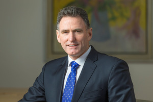 Massey University alumni and chief executive of the Royal Bank of Scotland Ross McEwan. Photo/supplied