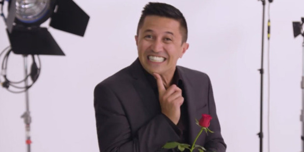 "Loading Mike Puru ""let slip"" that the last Bachelor was gay."