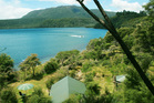 Lake Tarawera: Under the mountain