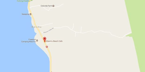 Fire crews arrived to find the house on Thames Coast Rd at Waiomu well involved in fire. Photo / Google Maps