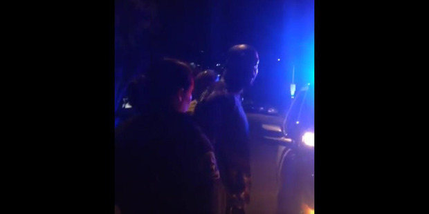 Loading Wyclef Jean posted a video on social media of police mistakenly handcuffing him. Photo / twitter