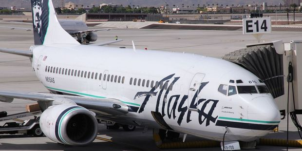 The incident happened on an Alaska Airlines flight, a US court heard. Photo/123RF
