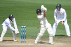 BJ Watling on Day 4 of the 3rd test against South Africa. Photosport
