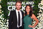 Kane Williamson and partner Sarah Raheem at the New Zealand Cricket Awards. Photo / photosport.nz