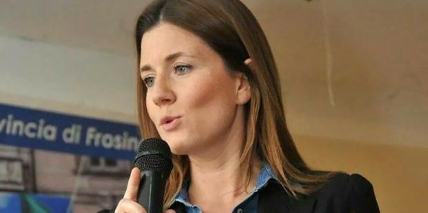 Annagrazia Calabria of the Italian Freedom Party (Forza dell'Italia). Photo / Facebook