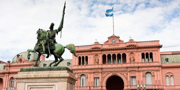 La Casa Rosada is a must-visit. Photo / 123RF
