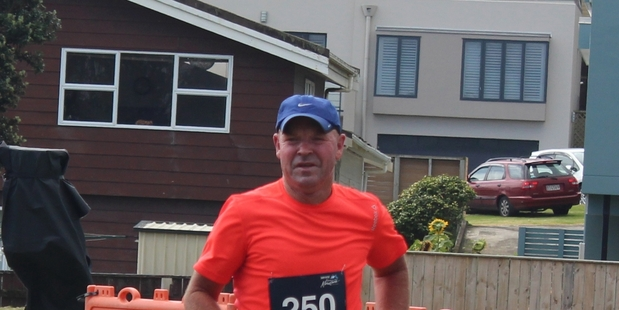 Chris Prankerd of Stratford Runners and Walkers club