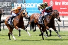 Summer Passage tackles the A$1 million Sires' Produce Stakes (1400m) at Randwick. Photo / Trish Dunell